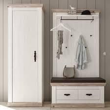 landhaus garderoben möbel zweifarbig nedita 3 teilig