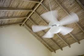 Ceiling Fan Wobbles In One Direction by How To Balance A Ceiling Fan Bob Vila