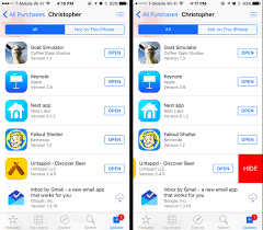 How to Hide Apps You ve Purchased on Apple s App Store and Google