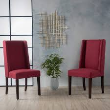 Amazon.com - Cline Deep Red Fabric Dining Chair (Set Of 2) - Chairs Set Of 6 Ding Chairs With Red Fabric Teak Archive Modest Fniture Chair Contemporary Wingback Zebra Ding Bent Plywood Shop Christopher Knight Home Pertica Red Fabric Upholstered Room Wooden Kitchen Chairs Grey Table For Linen High Scroll Back Rrp 24999 Save 4 Oak Framed Danish Homestore Verbois Jane Solid Walnut Six In Bmhaus Berry Cor03i Heath 2 Gdf Studio Floral Sets 8 Modern Whosale Beech Wood Upholstery