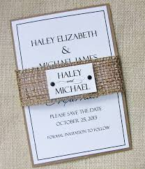 BLACK FRIDAY SALE ON ALL WEDDING INVITATIONS For The Love Of Creating Rustic Burlap Lace Shabby