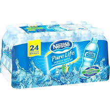 Bottled Water Case Pure Life Of Supply Part