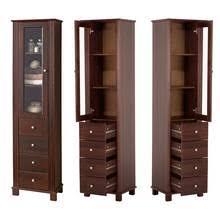 landhaus badezimmer hochschrank aveiro 56 pinie massivholz braun b h t ca 46 180 35cm