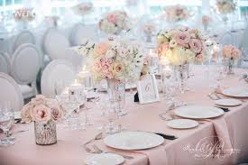 Pink Wedding Flowers Decor Toronto
