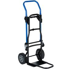 100 Harper Hand Truck JDCJ8523EN 3in1 500 Lb Quick Change With