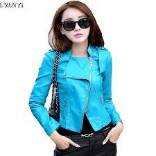online get cheap faux leather jacket women sale aliexpress com