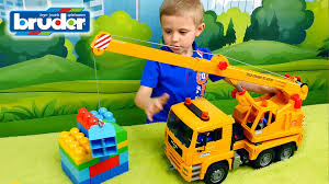 Kids' Cars. Crane BRUDER. MAN. Large Construction Machines. Video ... Cstruction Trucks For Children Learn Colors Bruder Toys Cement Bruder Tractors Claas New Holland John Deere Jcb 5cx Toys Youtube Children 02450 Cat Rolldozer Unboxing By Jack 4 Phillips Toy Garbage Truck Video 3 Videos Children And Tonka Toys Village New Road Mack Granite Dump Truck Rc Cveionfirst Load After Man Tgs Tanker 03775 Technology Of Boys 2014 Car Timber Scania Mobilbagger 0244 Excavator Site Dump Best Of Videos