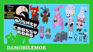 Halloween Town 3 Characters by Disney Crossy Road The Nightmare Before Christmas Update All