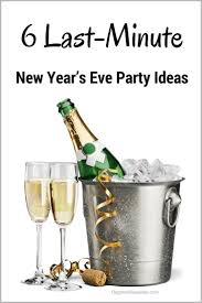 New Year39s Eve Party Decor Idea Black White Gold T