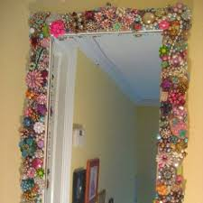 Mosaic Bathroom Mirror Diy by 48 Best Mirrors And Broken Glass Images On Pinterest Mosaic
