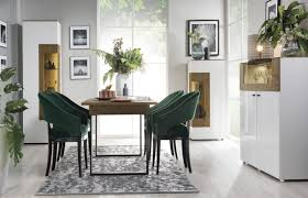 casa padrino eckvitrine weiß braun 65 4 x 40 x h 202 cm moderner beleuteter massivholz vitrinenschrank wohnzimmer schrank wohnzimmer möbel