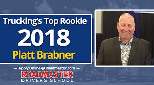 100 Ait Trucking Roadmaster Graduate Platt Brabner Named S Top Rookie Of