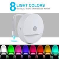 sunnest nachtlicht toilettenlicht wc beleuchtung mit bewegungsmelder toilettenlicht toilettenbeleuchtung nachtle für kinder eltern im badezimmer
