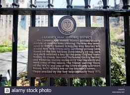 100 Keys To Gramercy Park Historic District Stock Photos