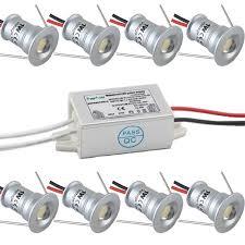 1w 12v ip65 mini led le downlight mit ip67 fahrer adapter