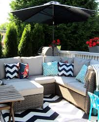 Walmart Patio Cushions And Umbrellas by Decor U0026 Tips Patio Ideas With Wood Decks And Target Outdoor Rugs