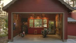 Rustic Style Cabin Garages