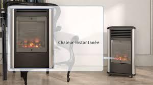 chauffage d appoint au gaz butane chauffage d appoint gaz 3kw effet cheminée manhattan