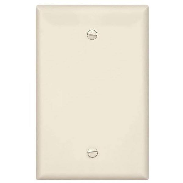 Cooper Wiring PJ13LA Wallplate - Blank, Light Almond