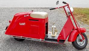 Cushman Model 54 Circa 1948 Howard33 Tags Red Scooter Madeinusa Twospeed