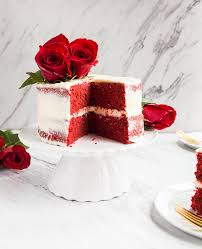 dessert for two when do you eat velvet cake