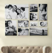 mit einer bilderrahmen collage können sie kreative wanddeko
