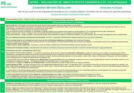 declaration auto entrepreneur chambre des metiers p0 cmb micro entrepreneur pdf