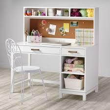 Wayfair White Desk With Hutch by Girls White 4 Drawer Computer Desk W Hutch U0026 Chair Regarding