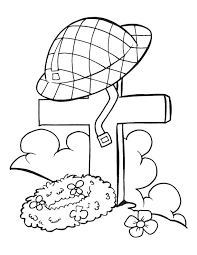 Free Coloring Pages Veterans Day