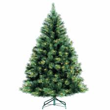 6ft Artificial Christmas Tree With Lights by 6ft Pre Lit Needle Pine Artificial Christmas Tree Pre Lit Xmas Trees