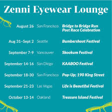 Zenni Optical - Zenni Is On The Road This Fall Heading To... | Facebook