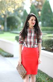 how to wear a red pencil skirt to work diary of a debutante