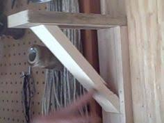 build a simple shelf bracket for any space from scrap wood