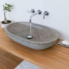 wohnfreuden aufsatz waschbecken marmor 70 x 40 x 13 cm grau