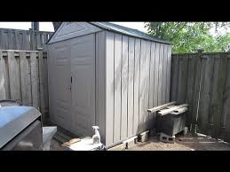 Rubbermaid Slide Lid Shed Instructions by Beautiful How To Assemble Rubbermaid Storage Shed 85 About Remodel