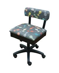 Arrow Height Adjustable Hydraulic Sewing Chair - Black With Black Riley  Blake Fabric Clara Natural Flax Ding Chair The Best Sewing Chairs For Comfortable Ergonomic Right To Sit On A Comfortable Office Chair Is What Karo 7 Reviewed June 2019 Arrow Height Adjustable Hydraulic Black With Riley Blake Fabric Horn Model 80 Luminaire Solaris Cabinet Swivel Rfjll White Vissle Blue 20 Diy Table Plans Ranked Mydiy Antique Fniture Antique Cupboards Tables Vintage Singer Original House Decorative Antiques Style Comfort And Adjustability At Boss Office Home Contoured Comfort Sitstand Desk