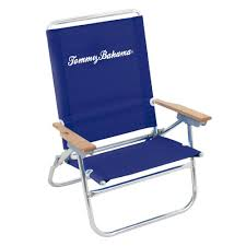 Tommy Bahama Navy Blue Easy In And Out Aluminum And Fabric ...