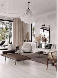 modern mediterranean style interior design wohnzimmer