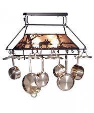 lighted pot rack ebay