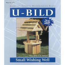 Lowes Homes Plans by Shop U Bild Small Wishing Well Woodworking Plan At Lowes