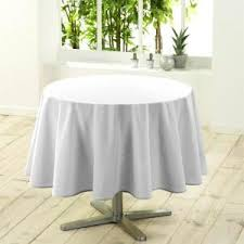 nappes ronde blanche achat vente nappes ronde blanche pas cher