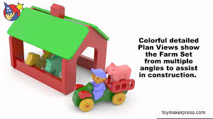 Wood Toy Plans - Barn, Animals & Tractor Farm Set - YouTube Farm And Stable Play Elves Angels Heirloom Quality Wooden Toys Barn Plan Terengganudailycom My First Farm Papo Hobbies Teen Children Safe Smart Sustainable For Babies Toddlers Toy Building Musical Train Whistle Blocks The Land Of Nod Boy Toys Next Kid Thing Dollhouse Accsories Toysrus Autism Spectrum Disorder Wins 2011 Good Design Award Pottery Presidio Best Dollhouses Popsugar Moms Universal Pictures New Movies In Theaters Future Releases Plan Toys Wooden Game Farm 304269 Perfect Pantazopoulos