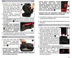 harmony folding booster review car seats for the littles