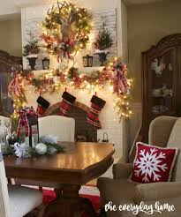 Spode Christmas Tree Village Cookie Jar by The Everyday Home 2015 Christmas Home Tour The Everyday Home