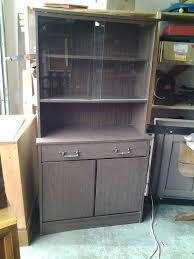 defehr furniture co made in canada glass door hutch multi