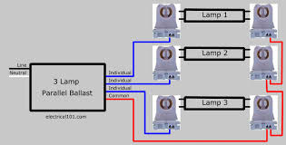 how to replace 3 l parallel ballasts electrical 101