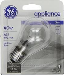 philips 416255 appliance 40 watt t8 intermediate base light bulb