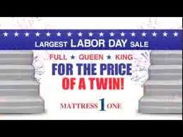 Mattress 1 e Labor Day Sale