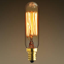 25 watt antique light bulb t6 tubular style