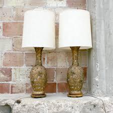 Stiffel Table Lamps Vintage by Sold U2013 Gold Stiffel Lamps 1970 U0027s